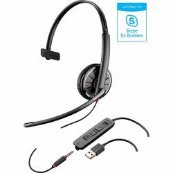 Plantronics Blackwire C315.1-M Microsoft SfB USB headset (with USB & 3.5mm connector)