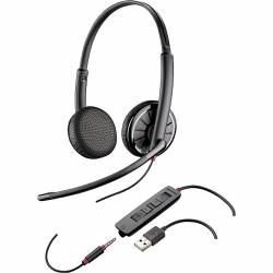 Plantronics Blackwire C325.1 UC USB headset (with USB & 3.5mm connector)
