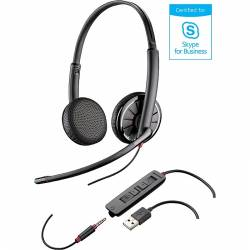 Plantronics Blackwire C325.1-M Microsoft SfB USB headset (with USB & 3.5mm connector)