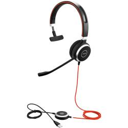 Jabra EVOLVE 40 UC Mono USB Headband MS
